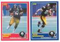 1989 Score Football Team Set - PITTSBURGH STEELERS w/ Rod Woodson RC