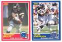 1989 Score Football Team Set - SAN DIEGO CHARGERS