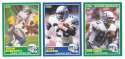 1989 Score Football Team Set - SEATTLE SEAHAWKS