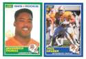 1989 Score Football Team Set - TAMPA BAY BUCCANEERS