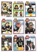 1979 Topps Football Team Set - PITTSBURGH STEELERS (A)