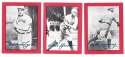 1977 Shakey's Pizza All-Time Superstars - CLEVELAND INDIANS Team Set