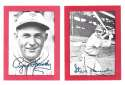1977 Shakey's Pizza All-Time Superstars - ST LOUIS CARDINALS Team Set