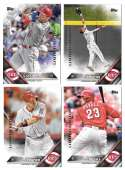 2016 Topps Limited Edition (Tiffany) - CINCINNATI REDS Team Set