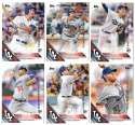 2016 Topps Limited Edition (Tiffany) - LOS ANGELES DODGERS Team Set