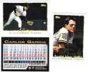 1995 Topps Cyberstats - Pittsburgh Pirates - 11 Card Team Set