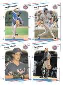 1988 Fleer Glossy - NEW YORK METS Team Set
