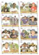 1988 Fleer Glossy - 8 Card Major League Prospect Lot (Players from different teams)