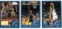 2002-03 Topps Basketball Team Set - Indiana Pacers