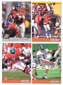 1993 Pro Set Football Team Set - DENVER BRONCOS