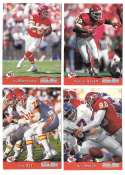 1993 Pro Set Football Team Set - KANSAS CITY CHIEFS