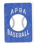 1954 APBA (Reprint) Season - PHILADELPHIA ATHLETICS / As Team Set
