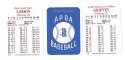 2004 APBA Season - CINCINNATI REDS 30 Card Team Set