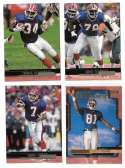 1999 Upper Deck (1-270) Football Team Set - BUFFALO BILLS
