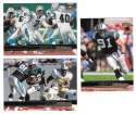 1999 Upper Deck (1-270) Football Team Set - CAROLINA PANTHERS