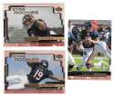 1999 Upper Deck (1-270) Football Team Set - CHICAGO BEARS