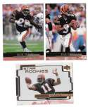 1999 Upper Deck (1-270) Football Team Set - CINCINNATI BENGALS