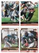 1999 Upper Deck (1-270) Football Team Set - MIAMI DOLPHINS