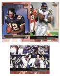 1999 Upper Deck (1-270) Football Team Set - MINNESOTA VIKINGS