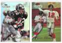 1998 Topps Gold Label Football - ATLANTA FALCONS