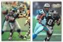 1998 Topps Gold Label Football - CAROLINA PANTHERS