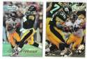 1998 Topps Gold Label Football - PITTSBURGH STEELERS