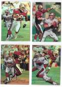 1998 Topps Gold Label Football - SAN FRANCISCO 49ERS