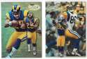 1998 Topps Gold Label Football - ST. LOUIS RAMS