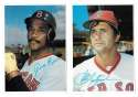1980 Topps Super (5x7) Gray Backs - BOSTON RED SOX Team Set