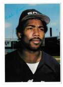 1980 Topps Super (5x7) Gray Backs - CHICAGO WHITE SOX  Chet Lemon