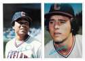 1980 Topps Super (5x7) Gray Backs - CLEVELAND INDIANS Team Set