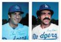 1980 Topps Super (5x7) Gray Backs - LOS ANGELES DODGERS Team Set