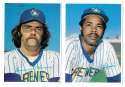 1980 Topps Super (5x7) Gray Backs - MILWAUKEE BREWERS Team Set
