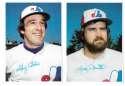 1980 Topps Super (5x7) Gray Backs - MONTREAL EXPOS Team Set