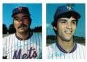 1980 Topps Super (5x7) Gray Backs - NEW YORK METS Team Set