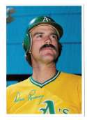 1980 Topps Super (5x7) Gray Backs - OAKLAND ATHLETICS / A'S Dave Revering