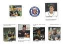 1983 Fleer Stamps DETROIT TIGERS Team Set