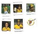 1983 Fleer Stamps SAN DIEGO PADRES Team Set