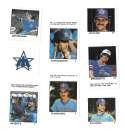 1983 Fleer Stamps SEATTLE MARINERS Team Set