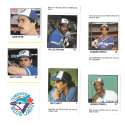 1983 Fleer Stamps TORONTO BLUE JAYS Team Set
