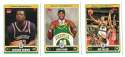 2006-07 Topps (1-265) Basketball Team Set - Seattle Supersonics