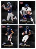 1998 Fleer Brilliants (1-150) Football - CHICAGO BEARS
