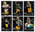 1998 Fleer Brilliants (1-150) Football - GREEN BAY PACKERS