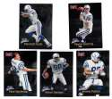 1998 Fleer Brilliants (1-150) Football - INDIANAPOLIS COLTS