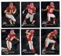 1998 Fleer Brilliants (1-150) Football - KANSAS CITY CHIEFS