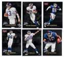 1998 Fleer Brilliants (1-150) Football - NEW YORK GIANTS