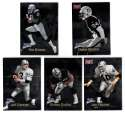1998 Fleer Brilliants (1-150) Football - OAKLAND RAIDERS