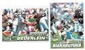 2001 Ultra (1-250) Football Team Set - CAROLINA PANTHERS