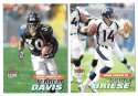 2001 Ultra (1-250) Football Team Set - DENVER BRONCOS
