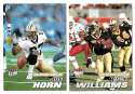 2001 Ultra (1-250) Football Team Set - NEW ORLEANS SAINTS